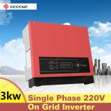 Hohe Leistungsfähigkeits-Sonnenenergie auf Rasterfeld-Inverter 3000W mit preiswertestem Preis