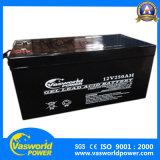 Batterie bon marché terminale avant du gel AGM de qualité du système solaire 12V 250 profonds de cycle