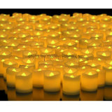 Indicatore luminoso tremulo senza fiamma a pile della candela dell'albero di Natale di illuminazione LED dell'indicatore luminoso del tè del LED mini