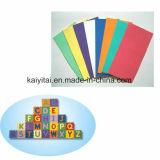 Het Blad van het Schuim van EVA van de kleur, de Duidelijke Bladen van het Schuim van EVA, het Schuim van Goma EVA voor Kinderen Handcraft