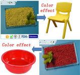 Orange&GreenカラーMasterbatchのためのプラスチック原料の製造業者