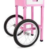 바퀴를 가진 상업적인 솜사탕 제작자
