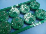 緑のSoldermaskの電子工学PCBのボード2layer 2.07oz