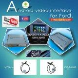 Video interfaccia dell'automobile per fusione Mondeo Ecosport ecc, parte posteriore Android di percorso e del bordo di festa del fuoco di sincronizzazione G3 Kuga del Ford panorama 360 facoltativi