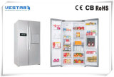 Combinado con doble puerta del congelador y refrigerador fabricado en China