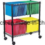 Многофункциональное хранение архива офиса/тележка архива стального провода, вагонетка /File (CJ-A1207)
