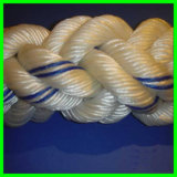 Núcleo de 8 manchas, corda trançada entrançada da amarração de 96mm Nylon/PE/PP/UHMWPE