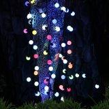 20/30/50 di stringa della sfera del LED illumina l'illuminazione decorativa alimentata solare dell'indicatore luminoso di natale per le decorazioni domestiche del partito di prato inglese del patio del giardino