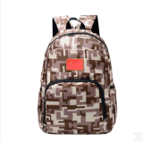 2017 Nouveau double sac en bandoulière en toile de camouflage d'étudiant de grande capacité Leisure Travel sac à dos d'ordinateur