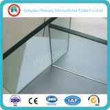 glace Tempered claire de 6-12mm avec le certificat d'ISO/Ce