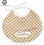 良質の綿によってカスタマイズされるキリンの刺繍の赤ん坊の摩耗の赤ん坊の胸当て
