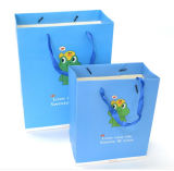 Bolso de papel promocional vendedor caliente del regalo de la producción reciclable