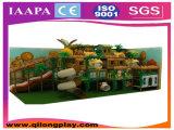 Campo de jogos interno das crianças as mais atrasadas do tema da floresta (QL-1111S)