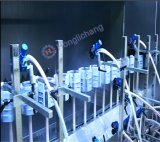 Système de peinture UV automatique sans poussière de pistolets de pulvérisation pour des téléphones mobiles