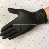 De nitrilo sin polvo guantes desechables con alta calidad