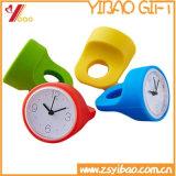 Orologio bello di vendita del silicone su ordinazione caldo di marchio