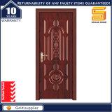 Projeto de madeira da porta principal do único Teak de madeira contínuo interior do painel