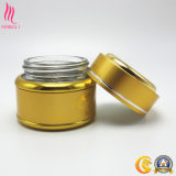Mofa cosmética de oro de la botella del OEM para arriba
