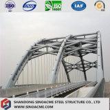 Marco de acero pesado modificado para requisitos particulares modular certificado para el puente del transporte