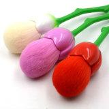 Le renivellement de forme de Rose de mode balaye les balais cosmétiques de Blusher de beauté