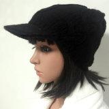 100% Island-Wollen, handgemachte Form-gewirkte Hüte mit Spitze