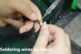 케이블 콜릿과 방아끈 방출 2 Pin 금속 연결관을%s 가진 B 시리즈 Fng 똑바른 플러그