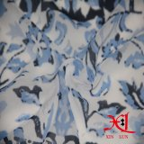 Tissu en soie de beau de fleur de Digitals vêtement Chiffon de robe