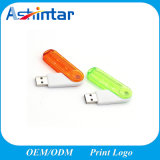 De transparante Stok Plastic USB van het Geheugen USB Pendrive