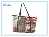 Entwurfs-Retro Art-Handtasche London-Big Ben