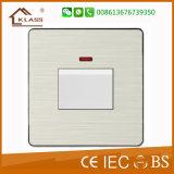 Interrupteur mural mural Standard Standard 3gang avec certificat Ce