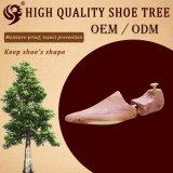 Design confortable en bois naturel à bas prix chaussure à laser