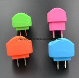 De universele Mobiele Lader van de Reis, 5V 1A de Lader van de Reis van USB, de Mobiele Lader van de Reis van de Telefoon