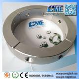 Arc de cercle aimant avec le trou fraisé moteur à aimant du générateur de l'aimant