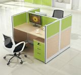 Partition de bureau de bureau de bureau MDF moderne (HX-NCD374)