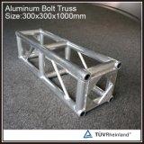 Populärer 12 Zoll-dekorativer Aluminiumschrauben-Beleuchtung-Binder für Ereignis