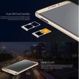 """元のBlackview R7 5.5 """" FHD 4G FDDのスマートな電話Mtk6755 Octaコアアンドロイド6.0の4GB RAM 32GB ROM 13MP 1920*1080pxの指紋IDの銀製カラー"""