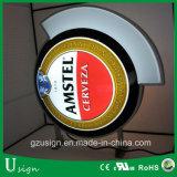 La cerveza Caja de luz LED para publicidad