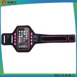 iPhoneまたは人間の特徴をもつ携帯電話のための試しのスポーツの腕章の箱