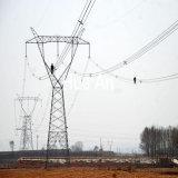 Transmission de puissance électrique de l'angle de la tour d'acier Structure de treillis métallique