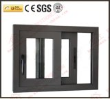 Insonorizadas doble de aluminio Acristalamiento slding Ventana (BHA-SW016)