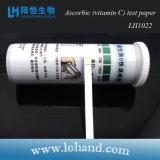 Instrumentos de laboratório Teste de qualidade da água Teste de ácido ascórbico Paper Lh1022