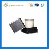 Rectángulo de la tapa y de la parte inferior del embalaje del rectángulo de la vela con la bandeja de la pieza inserta hecha (hecho en rectángulo de la vela de China)