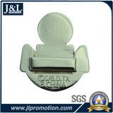 Pin suave de la solapa del esmalte del diseño del cliente con el niquelado brillante