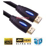30AWG 2160p, 3D, 4k, Cable HDMI 2.0