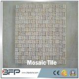 Azulejo de mosaico de mármol de piedra natural Polished del precio barato en acoplamiento