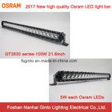 優れたOsramの単一の列22inch 100W LEDのライトバー(GT3530-100W)