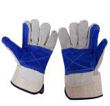 Перчатки заварки/перчатка безопасности кожаный
