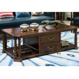 Журнальный стол американского типа деревянный длинний для домашней мебели (AS841)