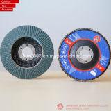 tipo piano di 115mm, disco della falda di Zirconia per acciaio inossidabile (smerigliatrice di angolo)