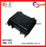 LED 운전사 아BS를 위한 까만 강한 플라스틱 방수 상자는 갯솜 잠수를 가진 장비 상자를 방수 처리한다